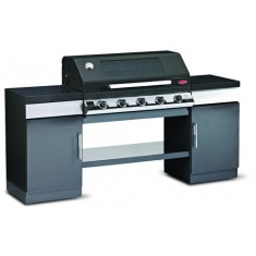 BeefEater Discovery 1100e 5 Burner Gas BBQ Outdoor Kitchen Unit