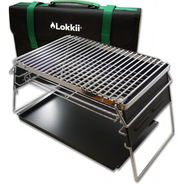 Lokkii Barbecue Home & Away incl. draagtas