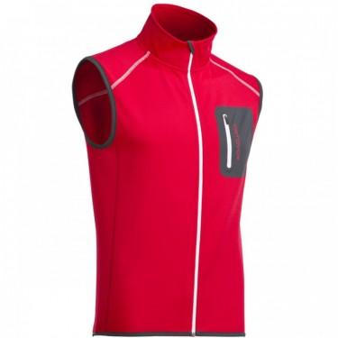 Ortovox Merinowool Fleece Vest Heren / Red Wine | Size Medium