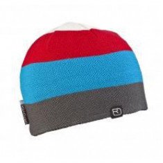 Ortovox Beanie Multicolor White / Blue / RED