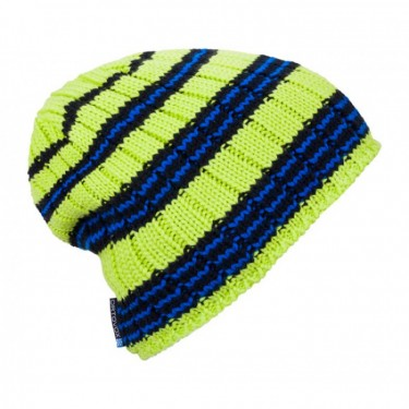 Ortovox Beanie Rock 'N' Woool Stripe /  Happy Green