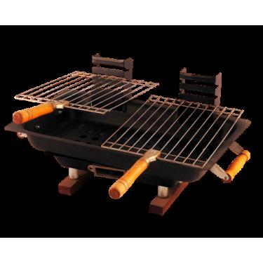 SATEMAKER Charcoal Barbecue Dubbel Hibachi