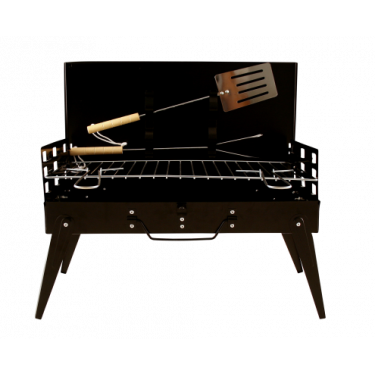 SATEMAKER Suitcase Barbecue incl. Spatula & meat fork
