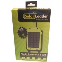 World Traveller 2,4 Watt solar panel - OP=OP