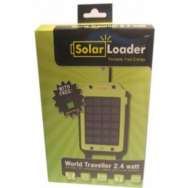 World Traveller 2,4 Watt portable solar panel - Discount