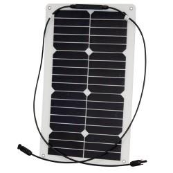 Semi-Flexible Solar Modules